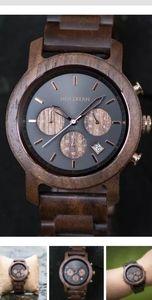 Men's Holzkern wooden watch